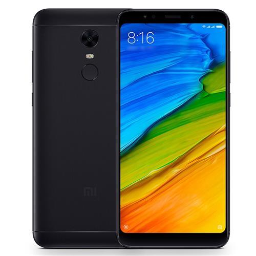 XIAOMI Redmi 5 Plus 3GB/32GB Black Mobilais Telefons