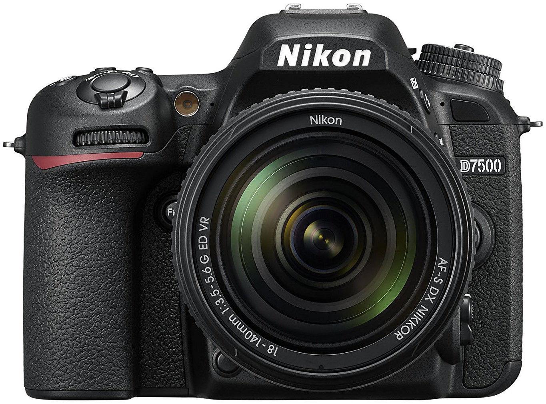 Nikon D7500 Kit + AF-S DX 18-140 ED VR Spoguļkamera SLR