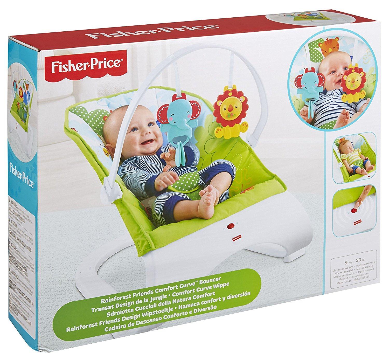Fisher Price CJJ79 T-MLX21855 šūpuļkrēsls