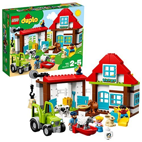 LEGO DUPLO 10869 Farm Adventures LEGO konstruktors