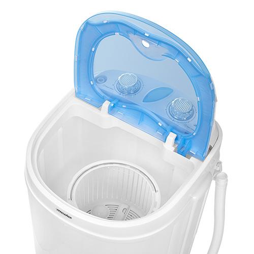Mesko Washing machine semi automatic MS 8053 Top loading, Washing capacity 3 kg, Depth 37 cm, Width 36 cm, White, Veļas mašīna