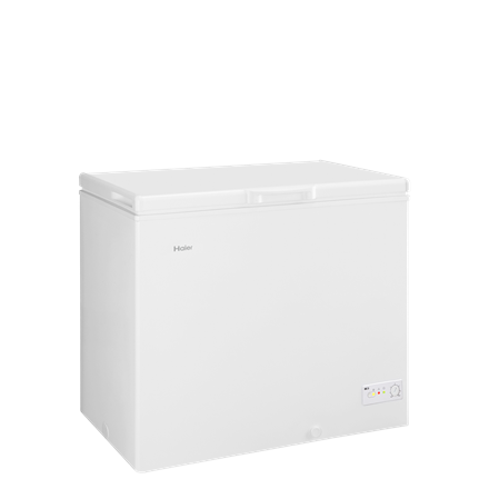 Haier Freezer BD-203RAA Chest, Height 84.5 cm, Total net capacity 203 L, A+, Freezer number of shelves/baskets 1, White, Free standing Vīna skapji