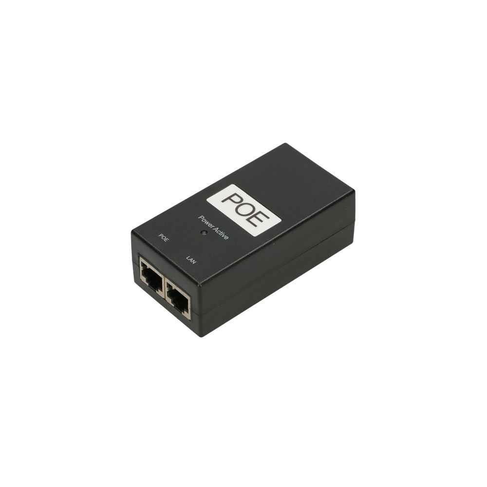 ExtraLink POE 48V-24W POWER ADAPTER WITH AC CABLE datortīklu aksesuārs