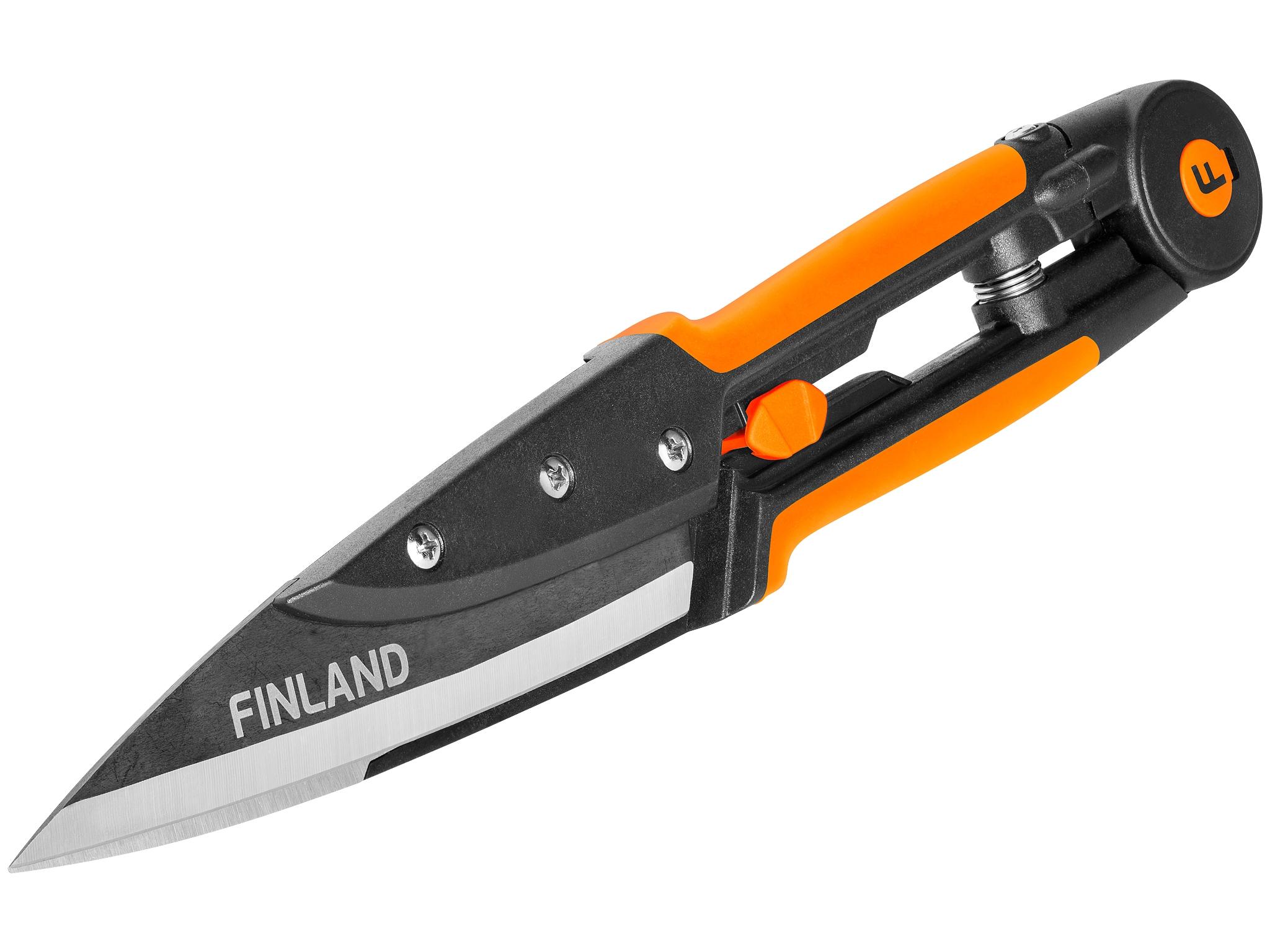 FINLAND Zales skeres, terauda, 34,5cm, atverums 60mm Šķēres