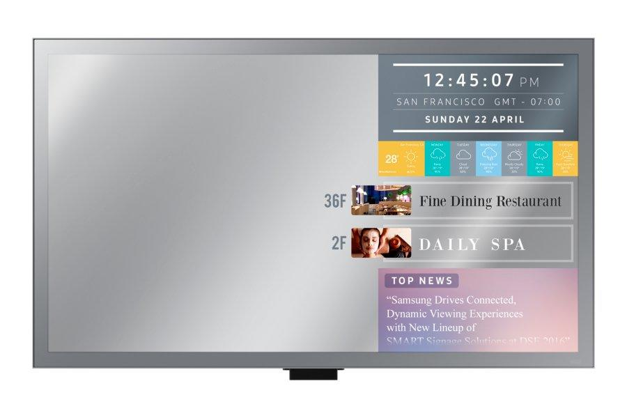 SAMSUNG 32' ML32E publiskie, komerciālie info ekrāni