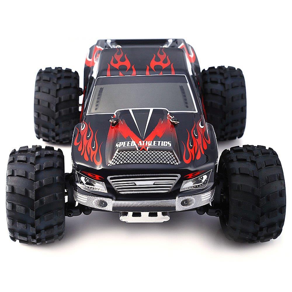 WL TOYS RC car model in 1:18 scale. A979 50km / h Radiovadāmā rotaļlieta