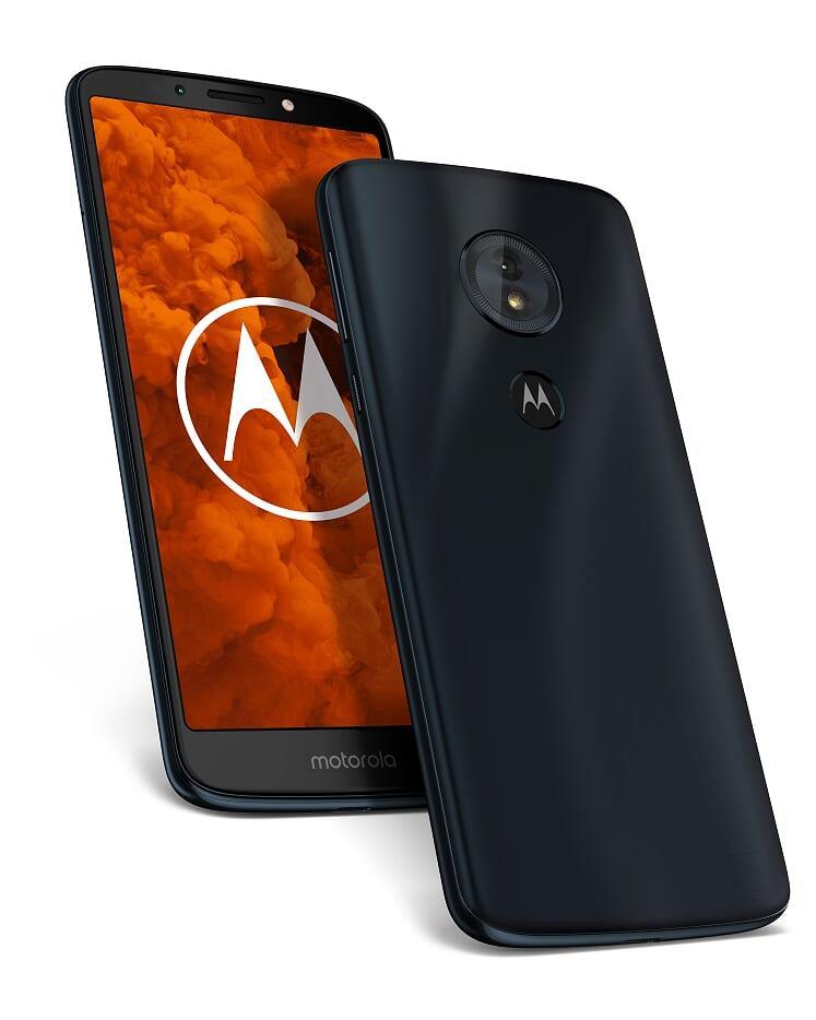 Smartphone Moto G6 Play Dual Sim 3/32GB Deep Indigo Mobilais Telefons