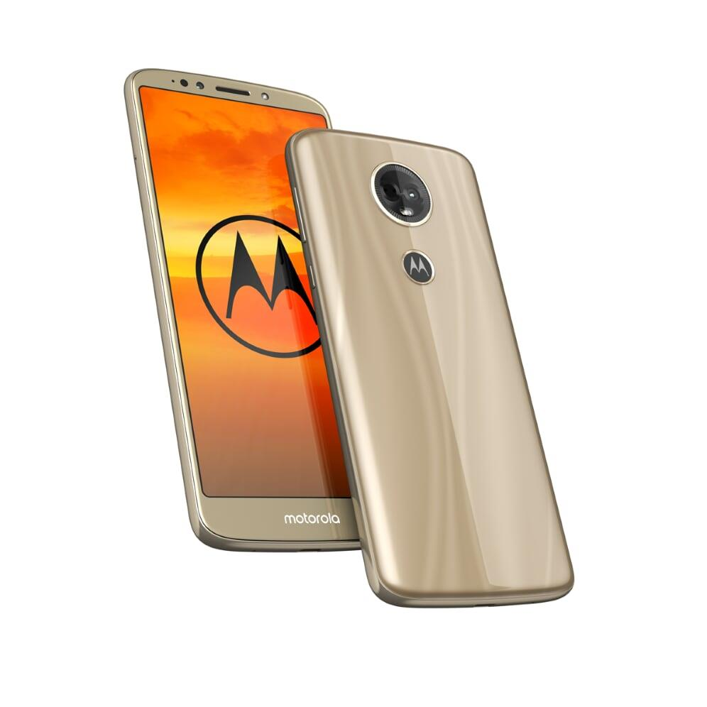Smartphone Moto E5+ Dual Sim 3/32 GB Gold Mobilais Telefons