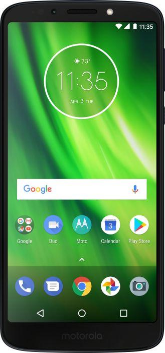 Lenovo Moto G6 Play - 5.7 - 32GB - Android - blue 0723755018679 Mobilais Telefons
