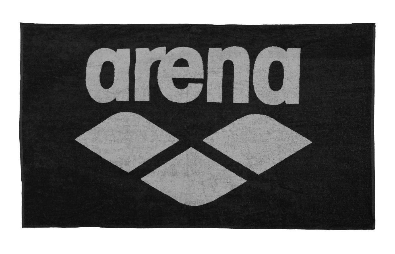 Towel Arena 001993/550 (90 x 150 cm; black color) 001993/550