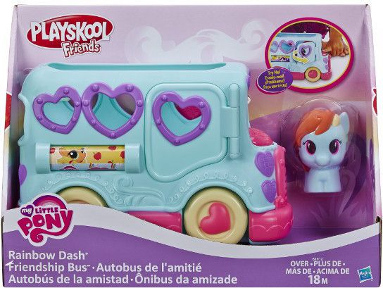 HASBRO PlaySkool Autobus PrzyjaŸniRajnbow Dash bērnu rotaļlieta