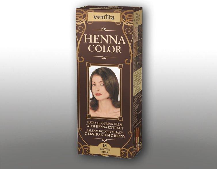 Venita Ziolowe Balsamy Henna Color 15 Braz 75ml V1095