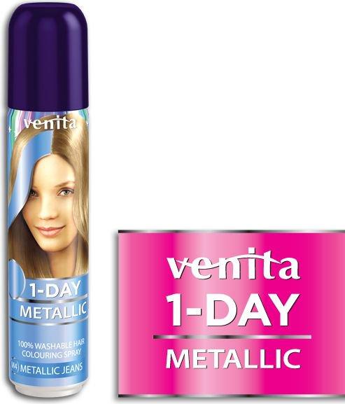 Venita 1-Day spray metallic nr 4 jeans 50ml V249