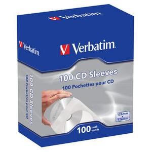 Verbatim CD PAPER SLEEVES 100 PACK aksesuārs mobilajiem telefoniem