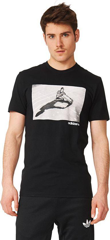 Adidas Koszulka meska Girl Tee czarna r. L (AZ1082) AZ1082