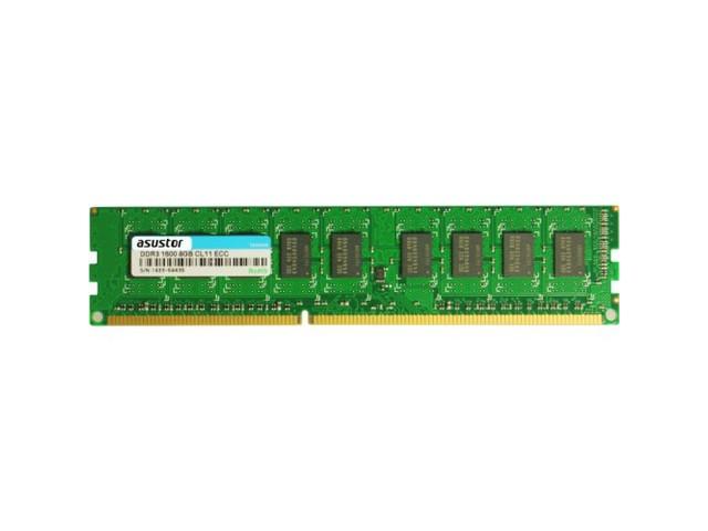 Pamiec serwerowa Asustor MODUL RAM ASUSTOR AS7R-RAM8GEC ECC UDIMM 8GB DDR3-1600 240PIN - 92M11-S80U1 92M11-S80U1