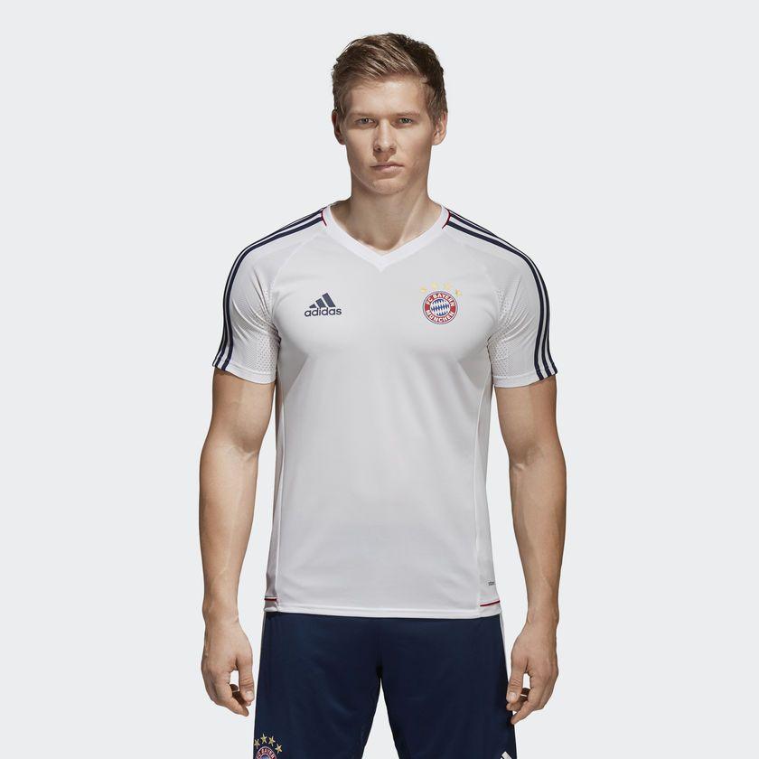 Adidas Koszulka pilkarska FC Bayern TRG JSY Biala r. XL (BQ4593) BQ4593