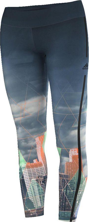 Adidas Legginsy Workout Long Tight City niebieskie r. XS (AJ5066) AJ5066