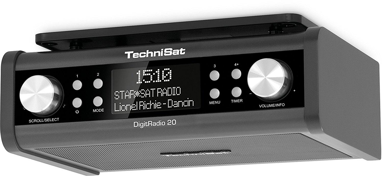 TechniSat DigitRadio 20, color black magnetola