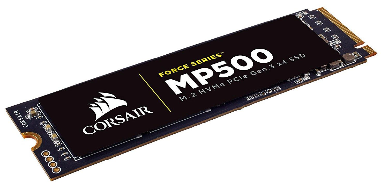 Corsair Force MP500 NVMe SSD M.2 960GB SSD disks