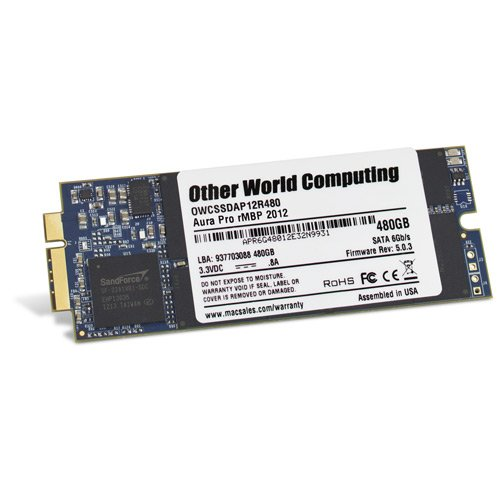 OWC Aura Pro SSD 480GB  Macbook Pro Retina SSD disks