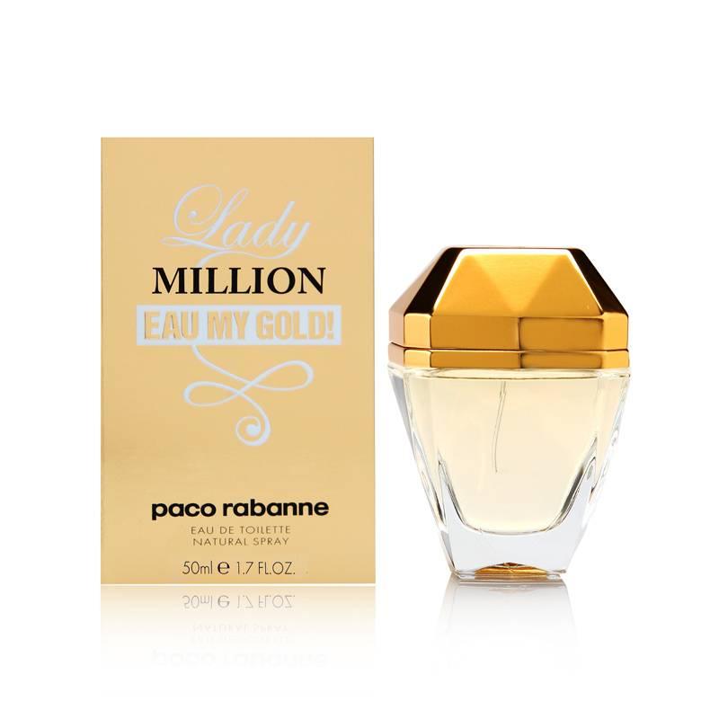 Paco Rabanne Lady Million Eau My Gold! 50ml Smaržas sievietēm