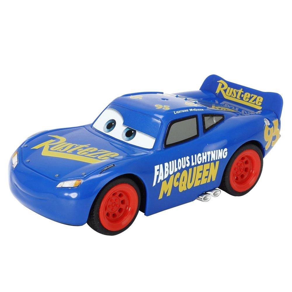 Auta 3 RC Zygzak McQueen Epiloque, 17 cm Radiovadāmā rotaļlieta