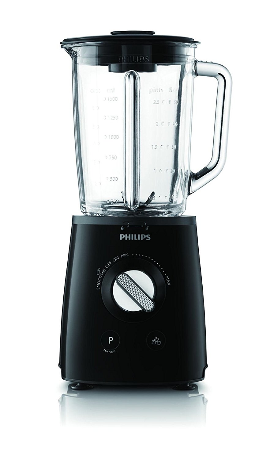 PHILIPS blenderis, 700W (melns) HR 2095/90 Blenderis