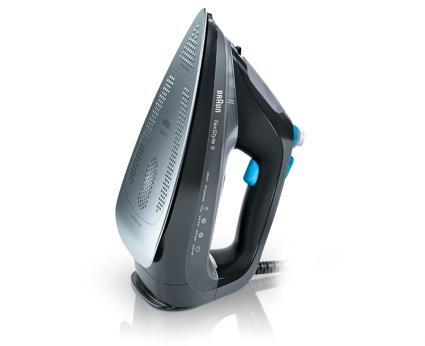 Braun TexStyle 9 SI 9188 - 2800W - black Gludeklis