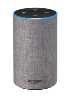 Amazon Echo 2 light grey Stoff Smart Assistant datoru skaļruņi