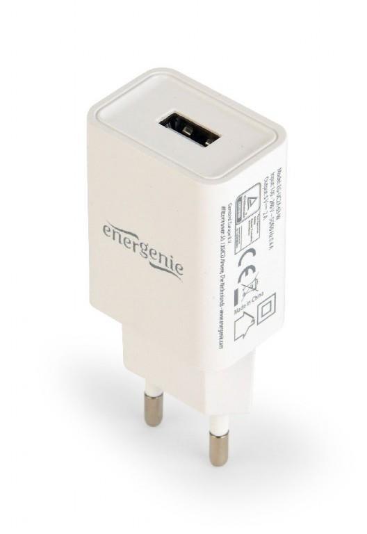 Energenie universal USB charger 2.1A white iekārtas lādētājs
