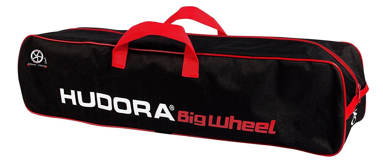 HUDORA Scooter Bag 200-250 - black/red Skrejriteņi