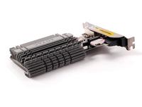 ZOTAC GeForce GT 730 Zone Edition Low Profile, 4GB DDR3 (64 Bit), HDMI, DVI, VGA video karte