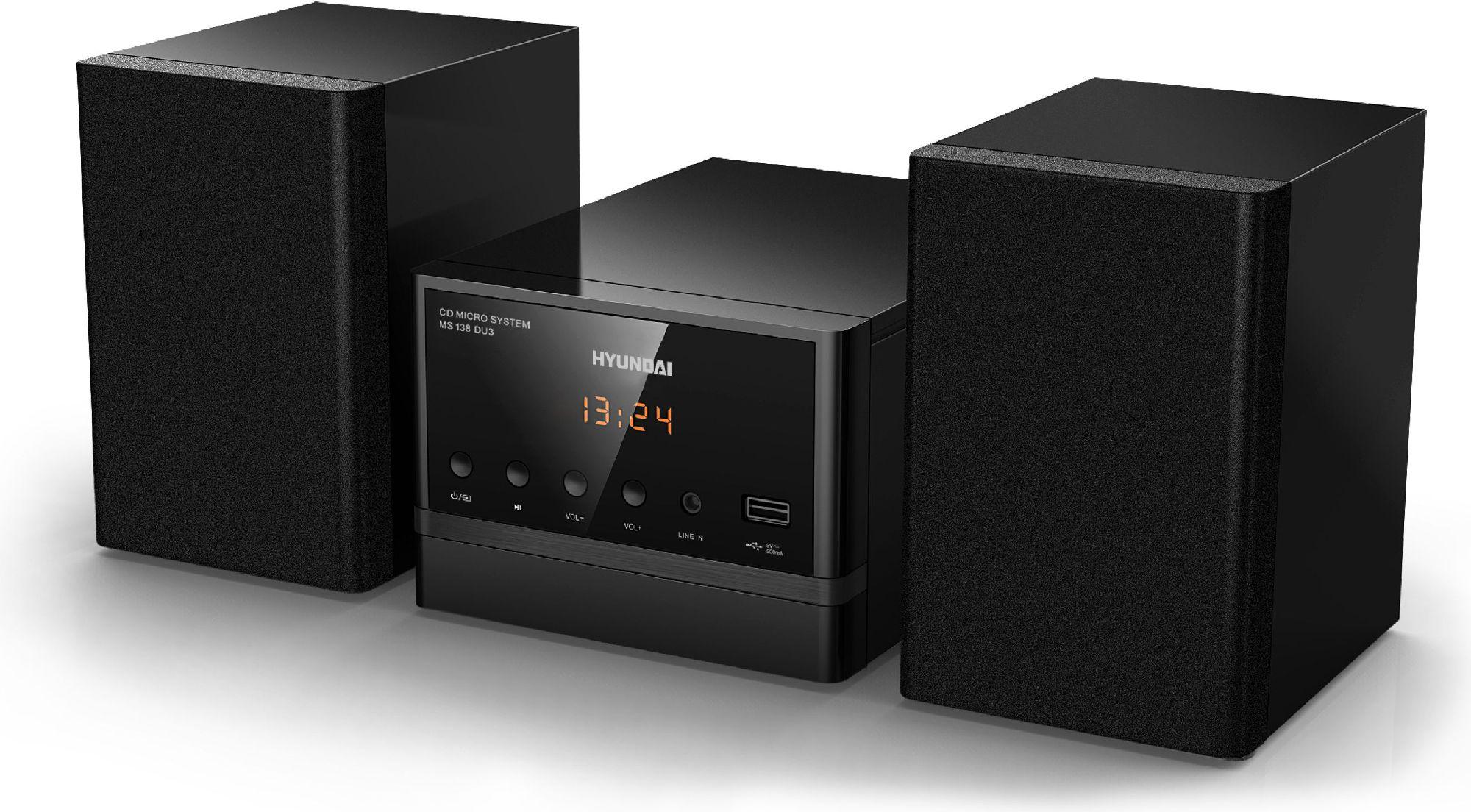 Audio system Hyundai MS138DU3, CD-R/RW, MP3, Tuner PLL, remote controller