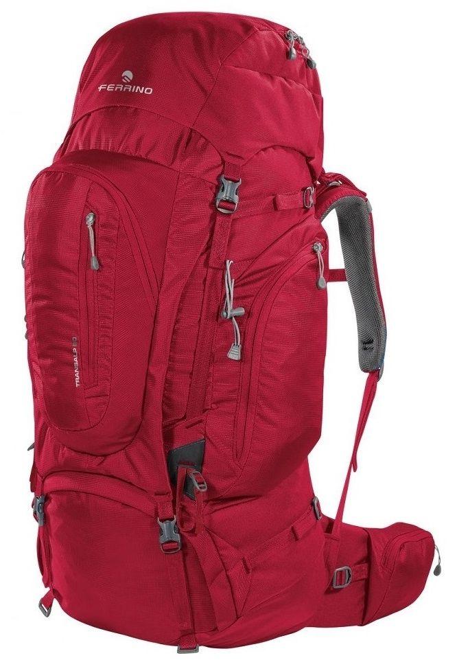 Ferrino Plecak turystyczny FERRINO Transalp 80L Czerwony (F75690-2) F75690-2