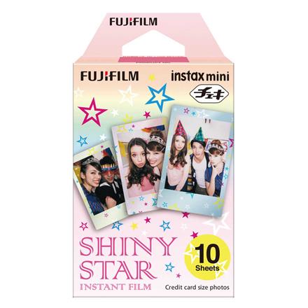 Fujifilm Instax Mini Shiny Star Instant Film Quantity 10, 86 x 54 mm foto papīrs