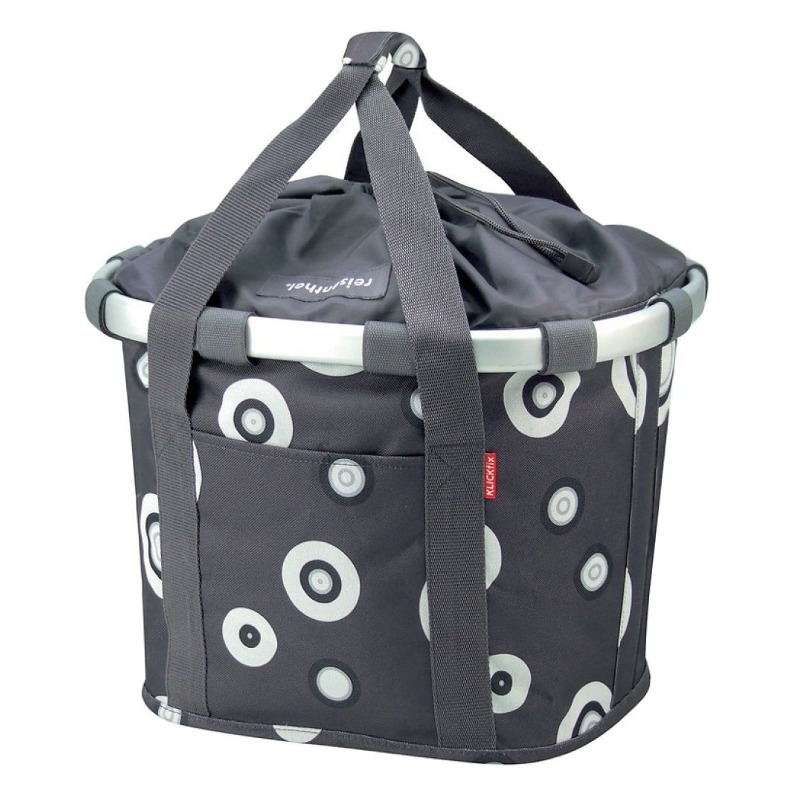 City-bag Bikebasket anthracite, 35x28x26cm 2179237000