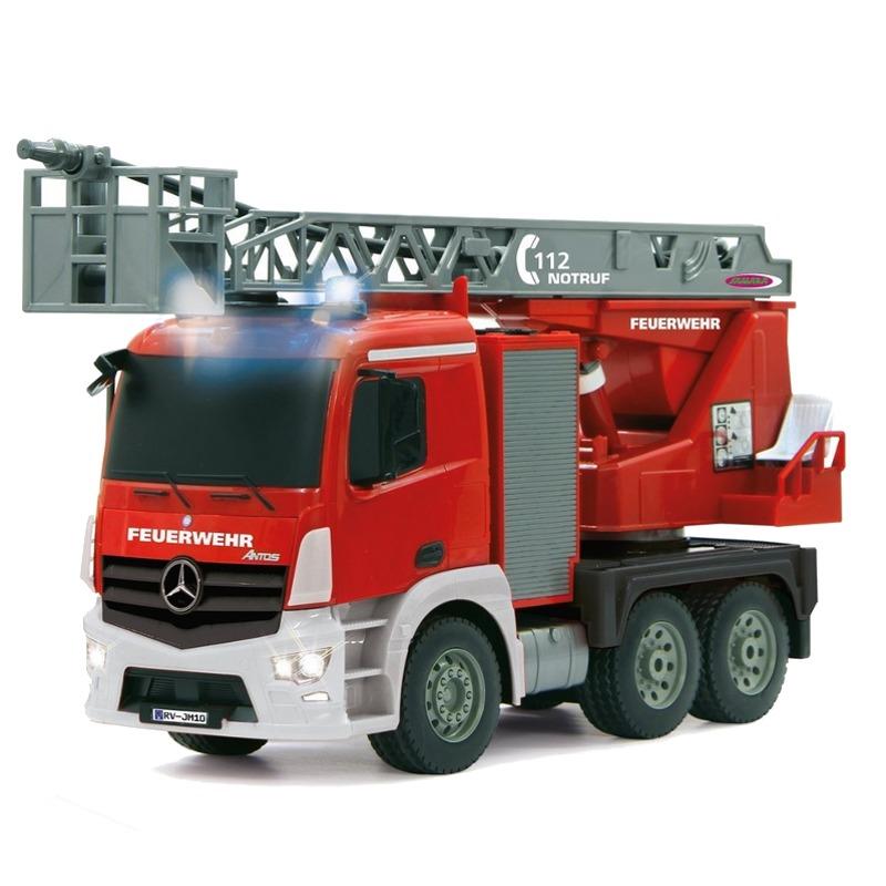 Jamara Feuerwehr Drehl.1:20Mercedes Antos2,4GHz Radiovadāmā rotaļlieta