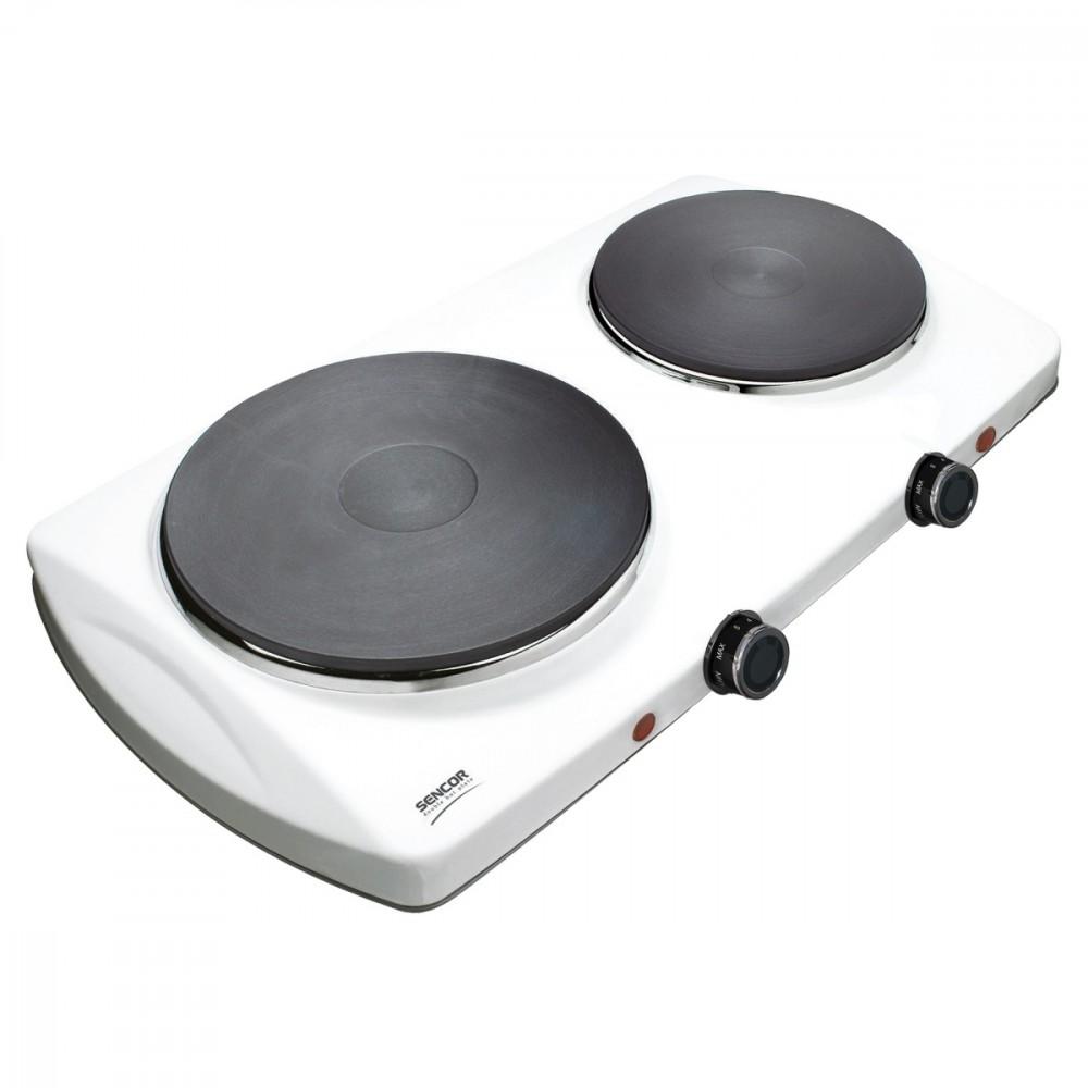 Sencor Double-plate kitchen SCP 2253WH plīts virsma