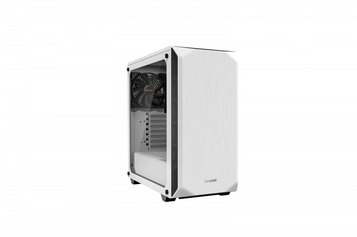 be quiet! Pure Base 500 Window, white, ATX, M-ATX, mini-ITX case Datora korpuss