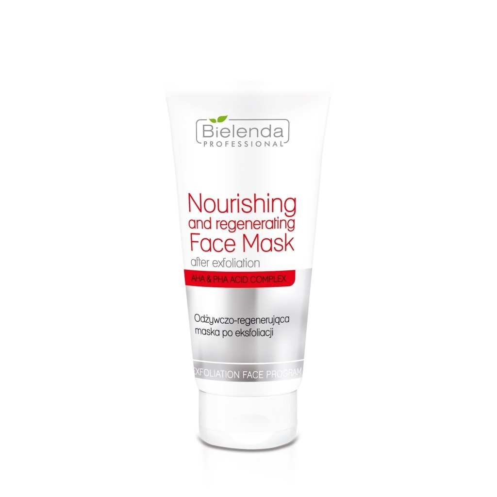 Bielenda Professional Nourishing And Regenerating Face Mask After Exfoliation. Nourishing and regenerating face mask 175ml