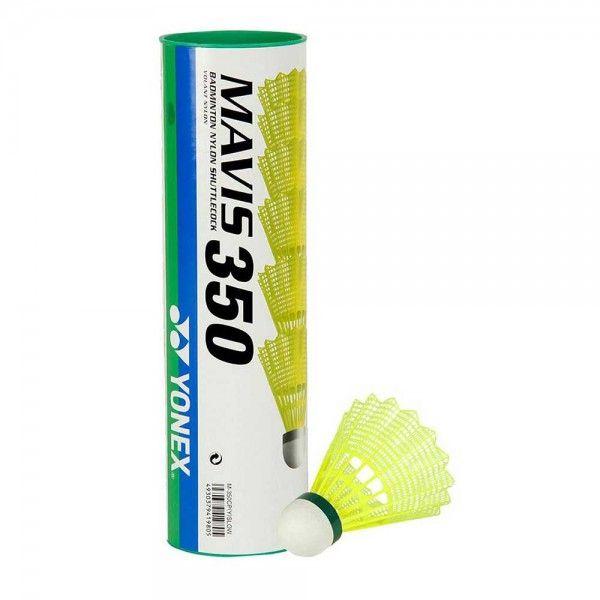 Yonex Lotka do badmintona Yonex Mavis 350 biala (M-350) M-350 badmintona rakete