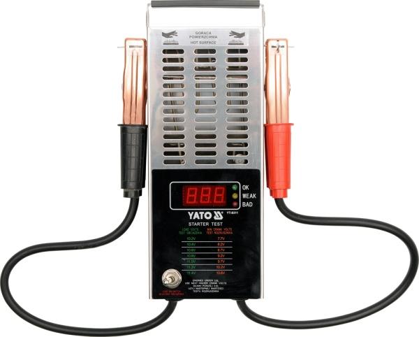 Yato Tester akumulatorow cyfrowy 12V 150-1400A (YT-8311) YT-8311 auto akumulatoru lādētājs