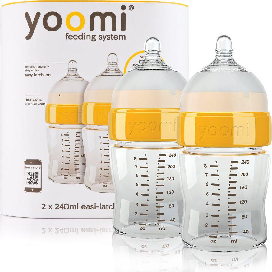 Yoomi Zestaw 2 butelki 240 ml 4617132 aksesuāri bērniem