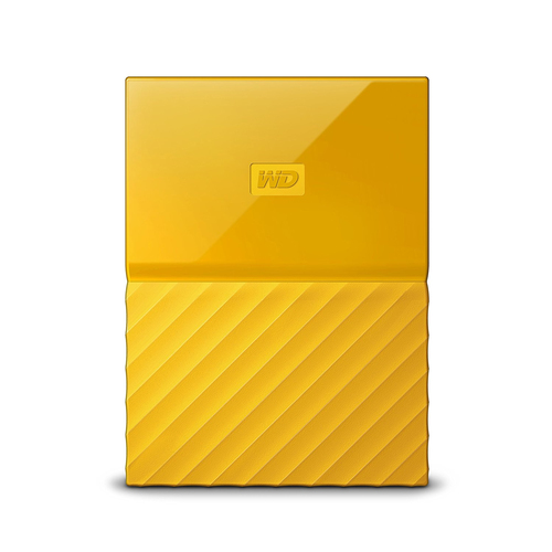 WESTERN DIGITAL MY PASSPORT 2TB YELLOW 2.5IN USB 3.0                    IN WDBS4B0020BYL-WESN cietais disks