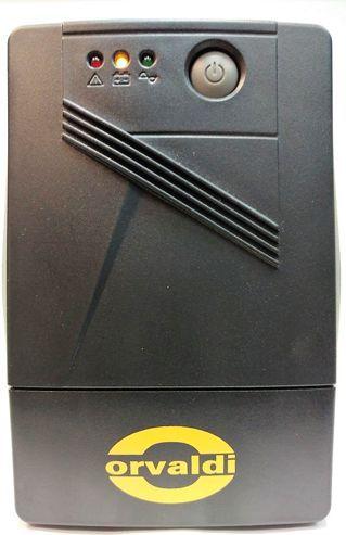 ORVALDI 850 LED USB 2 outlets Schuko nepārtrauktas barošanas avots UPS