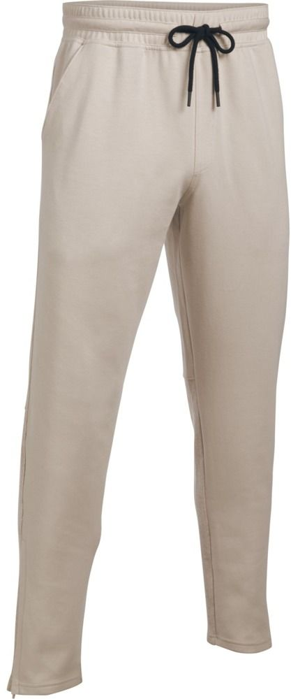 Under Armour Spodnie sportowe Ali Knit Pant-OAH//BLK bezowe r. XL (1290302-250) 1290302-250
