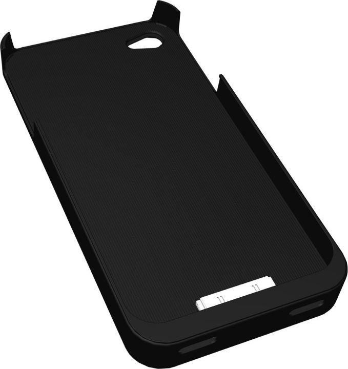 Fluxport Fluxy 4A for iPhone 4, 4s Qi-Case   black