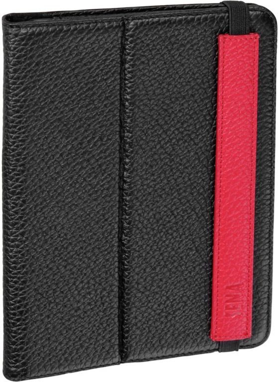 bag for tabletu Sena Jornal for iPad mini 3 Melns-Red (SHD049WSUS) planšetdatora soma