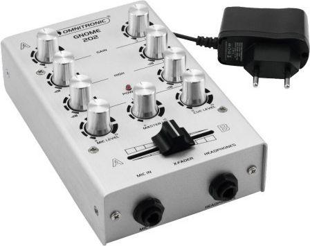 Omnitronic Omnitronic GNOME-202 silver - 10006881